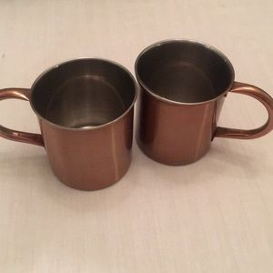 Other - Two Copper Cups